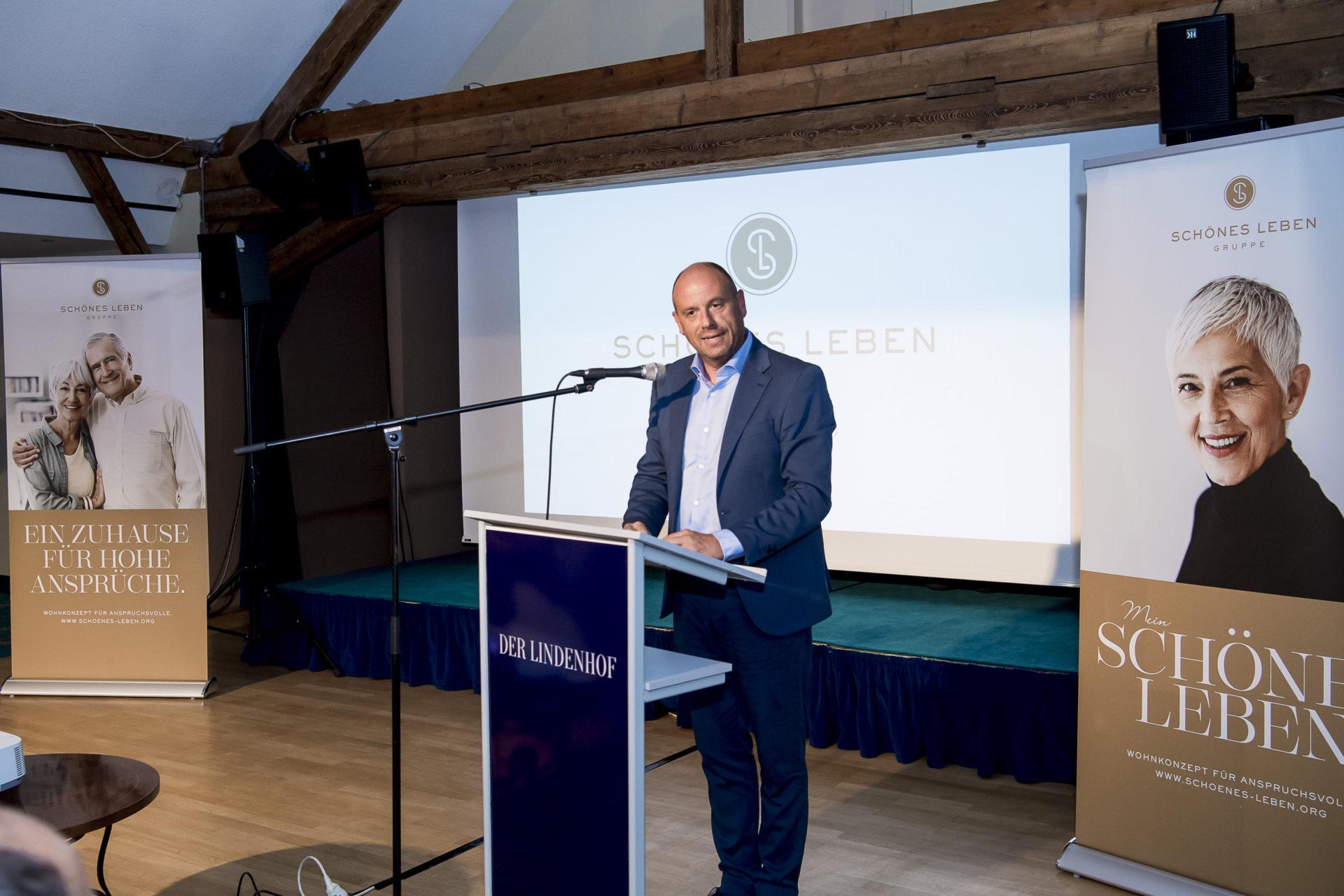 Marc Hildebrand, Geschäftsführer SCHÖNES LEBEN, Gruppe in Gotha