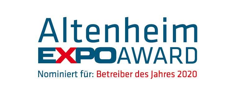 SCHÖNES LEBEN Gruppe nominiert als Betreiber des Jahres für Altenheim Expo Award 2020